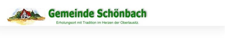 Gemeinde Sch�nbach - Oberlausitz