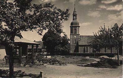 Historische Postkarte 1961