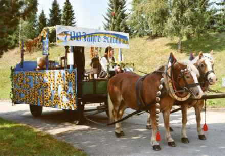 Festumzug 700 Jahre Schönbach 1