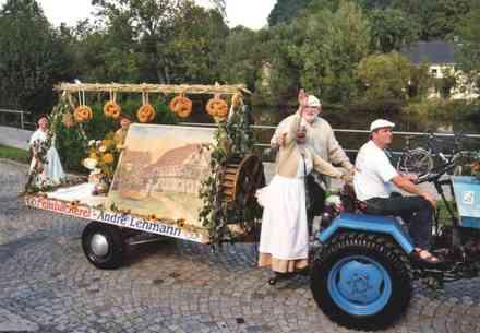 Festumzug 700 Jahre Schönbach 9