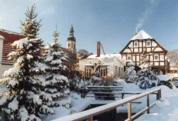 Winter in Schönbach 1
