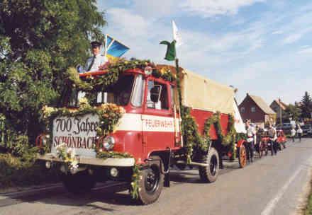 Festumzug 700 Jahre Schönbach 18