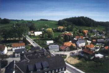 Schönbach - Vom Kichturm aus gesehen